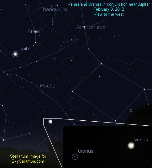Two planets will be very close together in the evening skies.