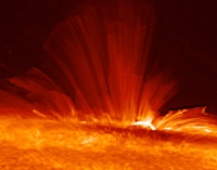Sunspot side view