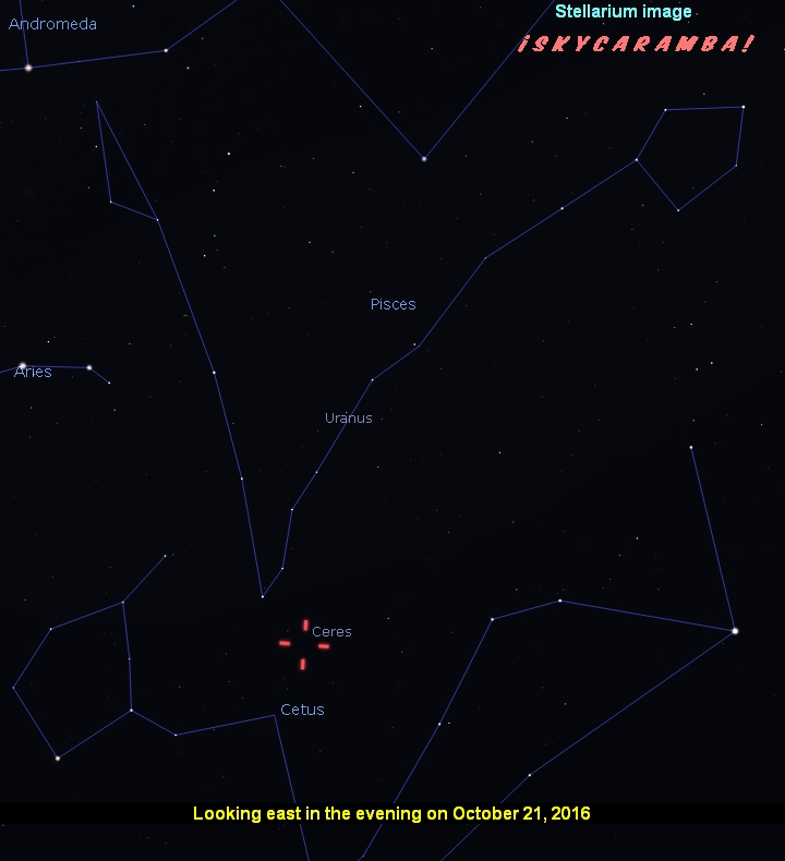 Ceres opposition October 2016