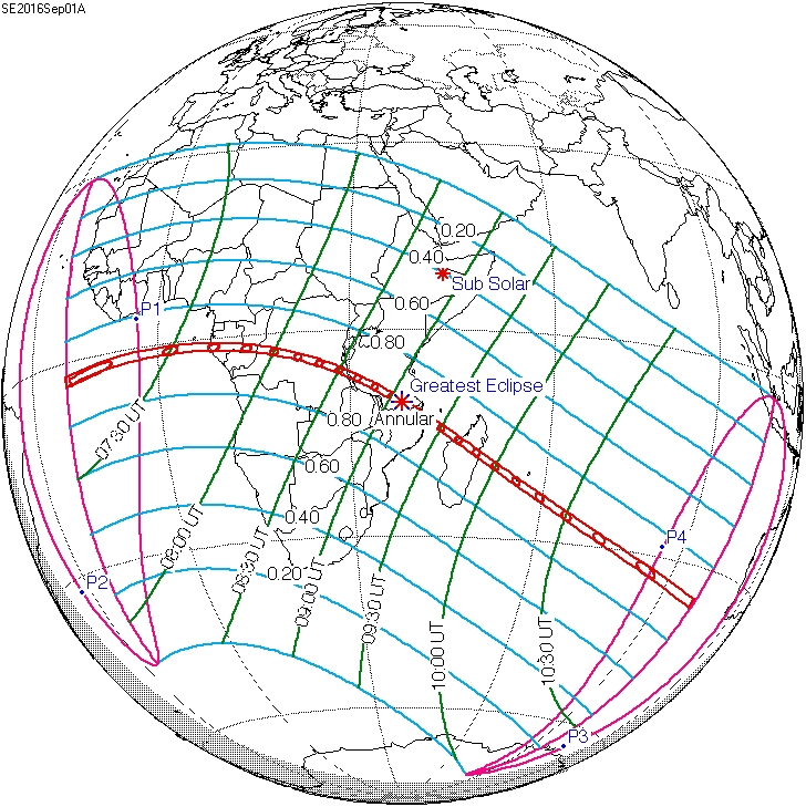 September 1, 2016 annular eclipse